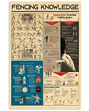 poster-FENCING 11x17 Poster front