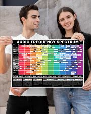 AUDIO FREQUENCY SPECTRUM 24x16 Poster poster-landscape-24x16-lifestyle-21