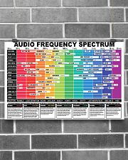 AUDIO FREQUENCY SPECTRUM 17x11 Poster poster-landscape-17x11-lifestyle-18