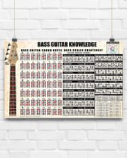 BASS GUITAR KNOWLEDGE 17x11 Poster poster-landscape-17x11-lifestyle-17