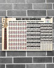 BASS GUITAR KNOWLEDGE 17x11 Poster poster-landscape-17x11-lifestyle-18