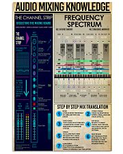 AUDIO MIXING 11x17 Poster front