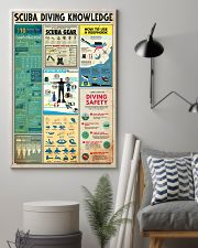 SCUBA DIVING 24x36 Poster lifestyle-poster-1