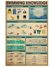 SWIMMING 24x36 Poster front