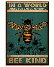 Bee 11x17 Poster front