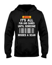 dhl Hooded Sweatshirt thumbnail
