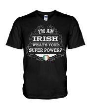 I'm an Irish V-Neck T-Shirt tile
