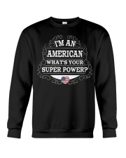 I'm an American Crewneck Sweatshirt thumbnail