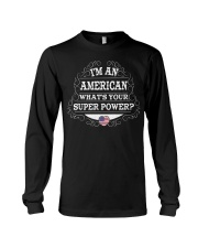 I'm an American Long Sleeve Tee thumbnail