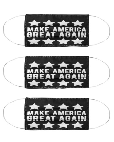 Make America Great Again Stars face mask - Rally