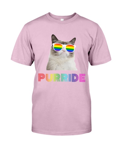 Transgender LGBTQ Funny Cat Purride