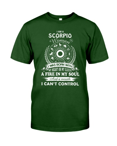I am a Scorpio woman