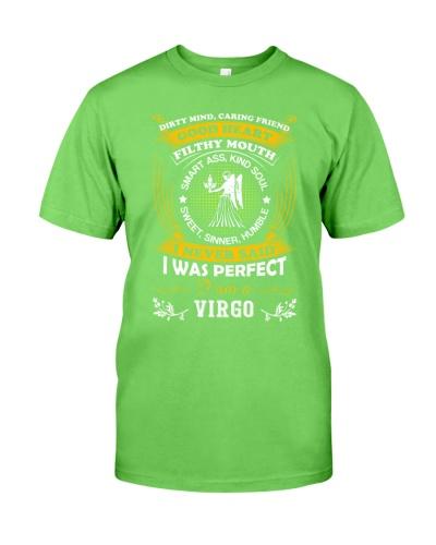 I never said I was perfect I'm a Virgo