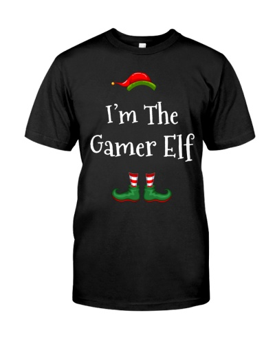 I'm The Gamer Elf Matching Family Christmas