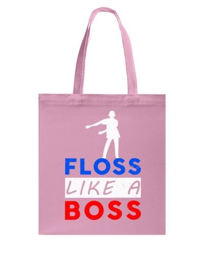 Floss Like A Boss Dancing Flossing Dance