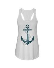 The Sailor Anchor Ladies Flowy Tank thumbnail