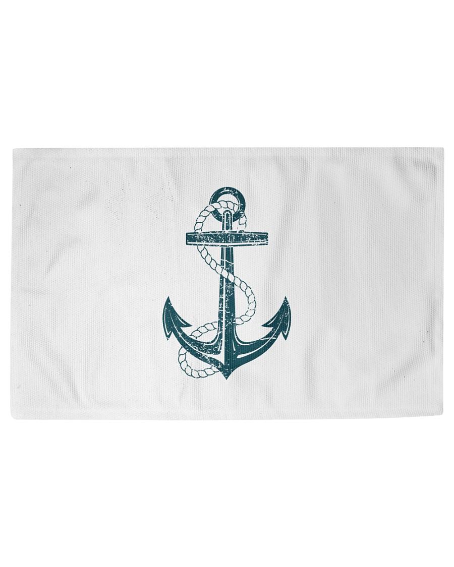 The Sailor Anchor Woven Rug - 3' x 2'