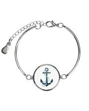 The Sailor Anchor Metallic Circle Bracelet thumbnail