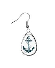 The Sailor Anchor Teardrop Earrings thumbnail