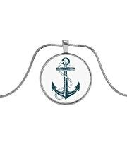 The Sailor Anchor Metallic Circle Necklace thumbnail