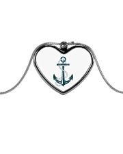 The Sailor Anchor Metallic Heart Necklace thumbnail