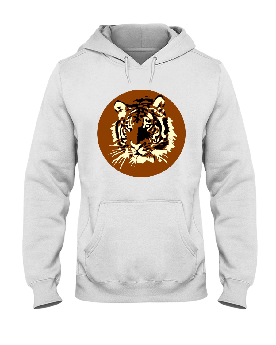 Tiger T-shirt Hooded Sweatshirt