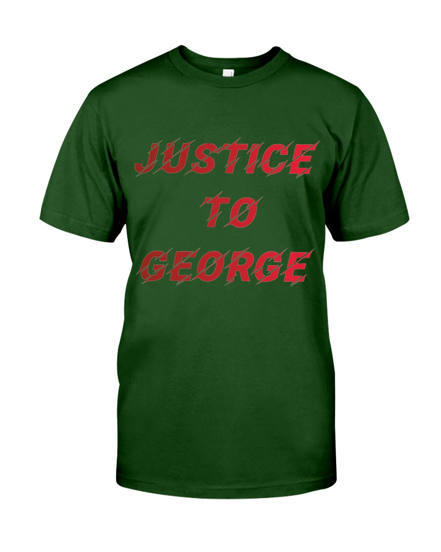 Justice for George Tshirt Classic T-Shirt