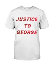 Justice for George Tshirt Classic T-Shirt thumbnail