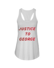Justice for George Tshirt Ladies Flowy Tank thumbnail