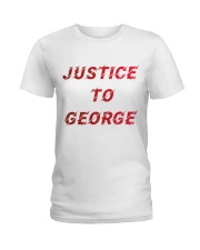 Justice for George Tshirt Ladies T-Shirt thumbnail