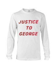 Justice for George Tshirt Long Sleeve Tee thumbnail