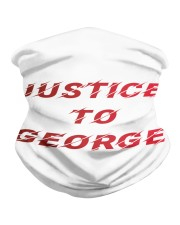 Justice for George Tshirt Neck Gaiter thumbnail