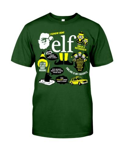 45Buddy the elfawesome tshirt for buddy eft fans