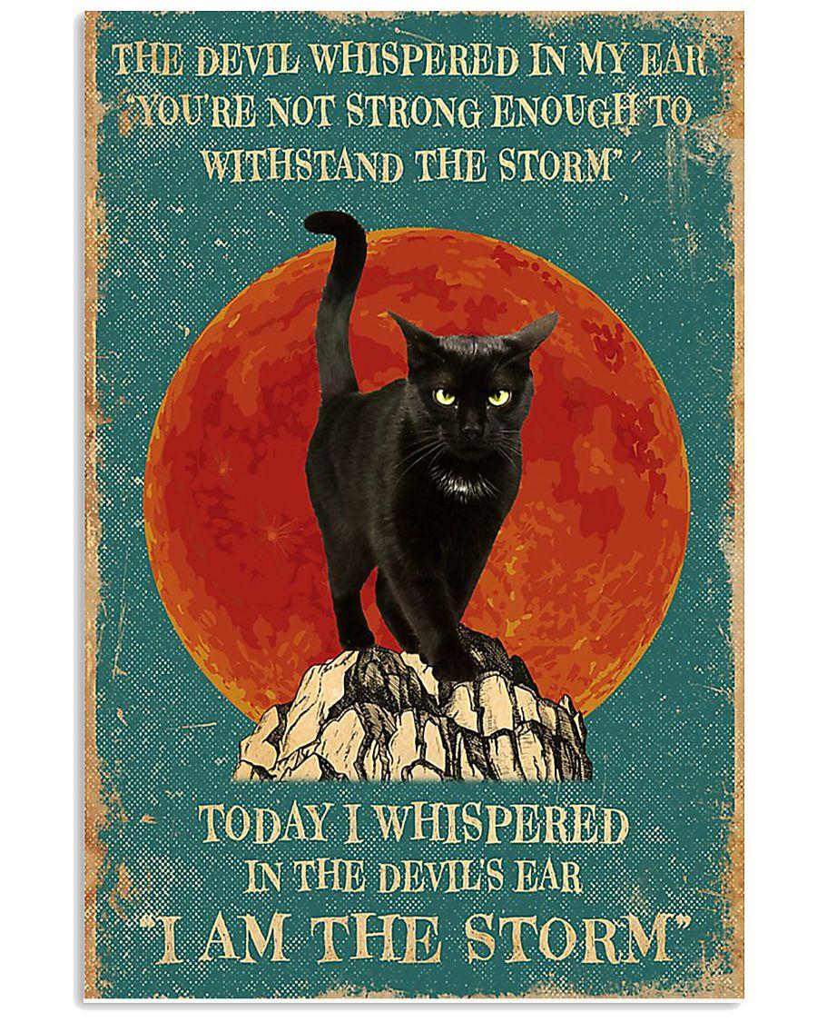 Cat I Am Storm 11x17 Poster