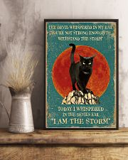 Cat I Am Storm 11x17 Poster lifestyle-poster-3