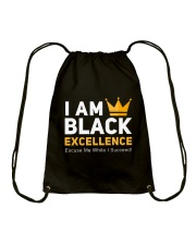I AM Black Excellence Accessories Drawstring Bag thumbnail