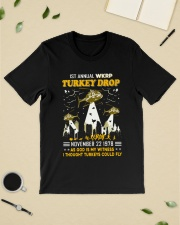 1St annual WKRP Turkey Drop November 22 1978 Classic T-Shirt lifestyle-mens-crewneck-front-19