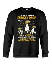 1St annual WKRP Turkey Drop November 22 1978 Crewneck Sweatshirt thumbnail