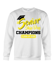 Senior skip day champions class of 2020 yellow Crewneck Sweatshirt tile