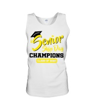 Senior skip day champions class of 2020 yellow Unisex Tank thumbnail