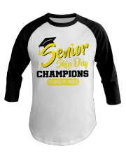 Senior skip day champions class of 2020 yellow Baseball Tee tile