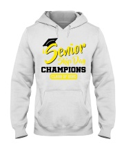 Senior skip day champions class of 2020 yellow Hooded Sweatshirt tile