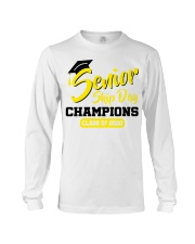 Senior skip day champions class of 2020 yellow Long Sleeve Tee tile