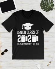Senior Class of 2020 Toilet Paper T-shirt Classic T-Shirt lifestyle-mens-crewneck-front-17