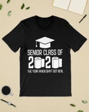 Senior Class of 2020 Toilet Paper T-shirt Classic T-Shirt lifestyle-mens-crewneck-front-19