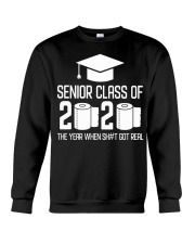 Senior Class of 2020 Toilet Paper T-shirt Crewneck Sweatshirt thumbnail