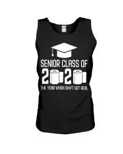 Senior Class of 2020 Toilet Paper T-shirt Unisex Tank thumbnail
