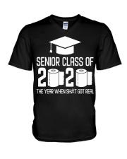 Senior Class of 2020 Toilet Paper T-shirt V-Neck T-Shirt thumbnail