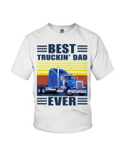 Best truckin dad ever vintage father's day shirt Youth T-Shirt thumbnail