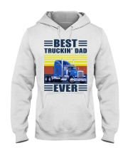 Best truckin dad ever vintage father's day shirt Hooded Sweatshirt thumbnail